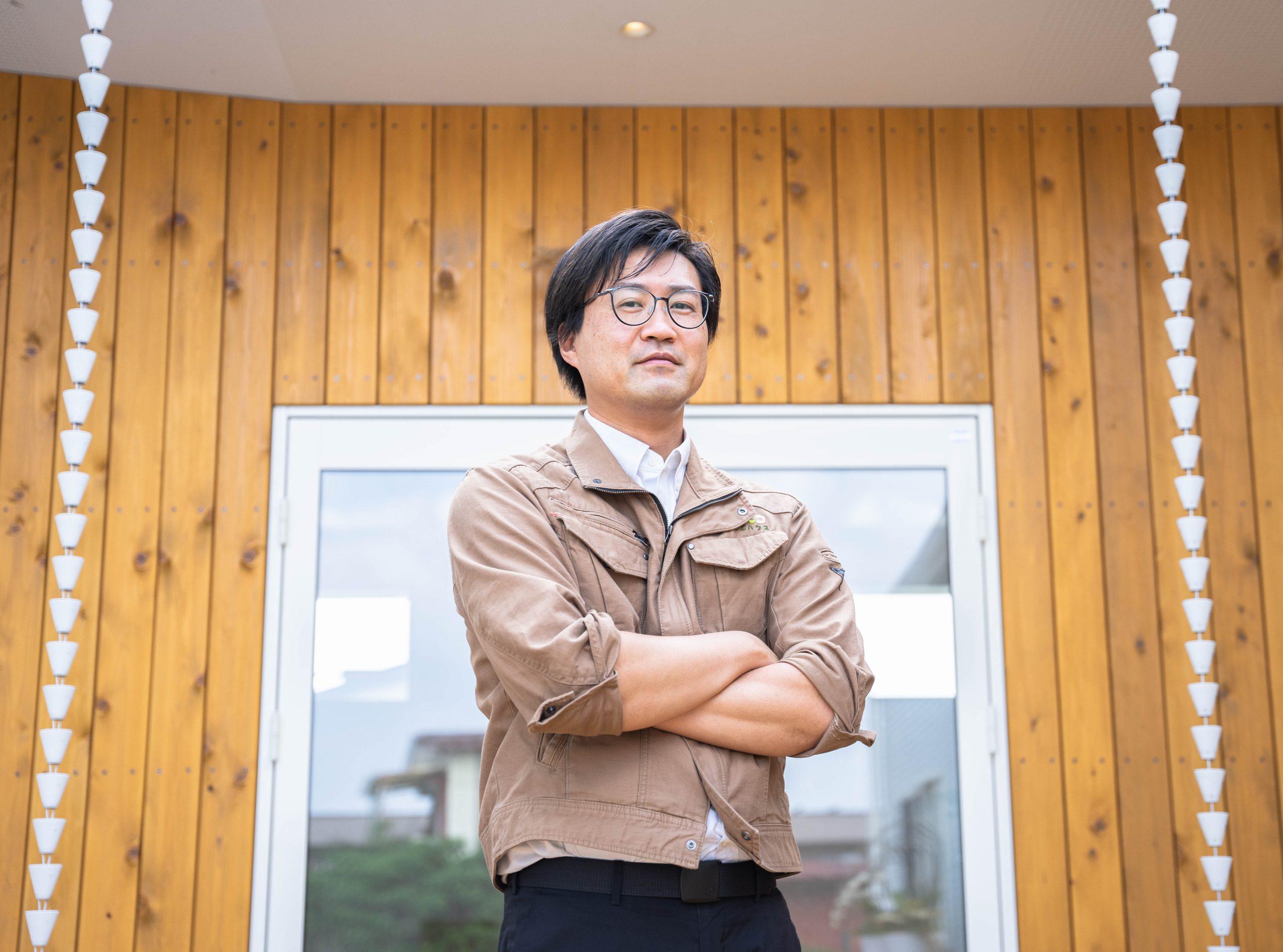 マルモコハウス経営者/áretのデザイン・建築を手掛ける渡辺純一さん